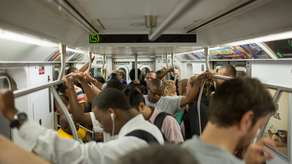 A Simple Improvement for the Problem of Crowded Rail Transit ...