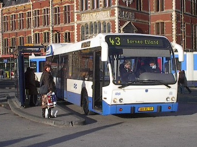 amsterdam public transit 39 s big move to all electric news planetizen. Black Bedroom Furniture Sets. Home Design Ideas