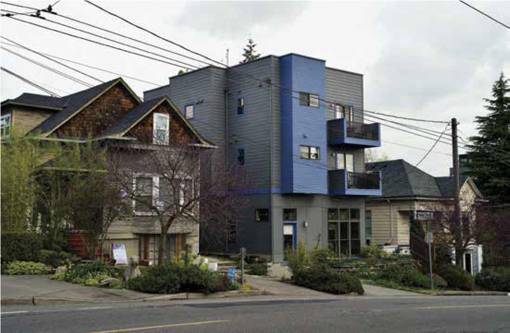 Infill Housing, Seattle