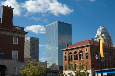 Image of downtown Louisville.