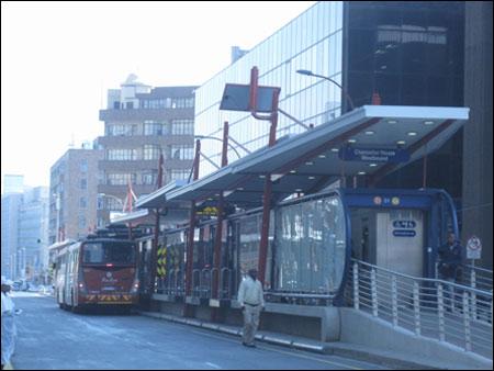 Rea Vaya BRT in Johannesburg, South Africa