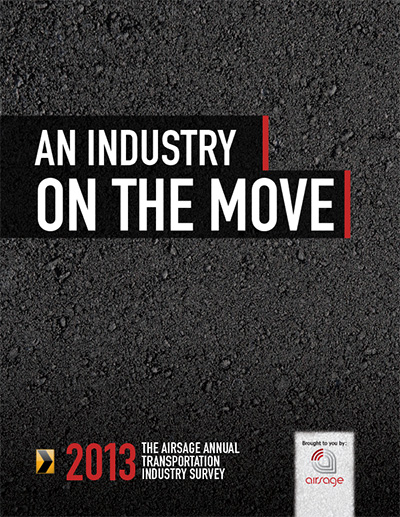 "An Industry on the Move"" 2013"