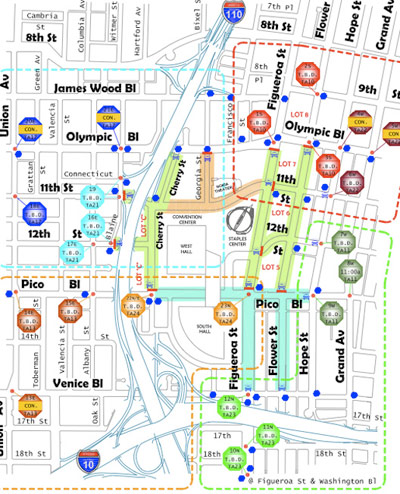 map of downtown los angeles streets bnhspinecom